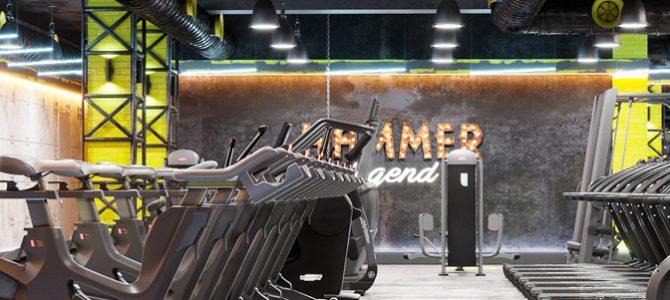 Тренажерный зал «HAMMER legend». Астана. Казахстан