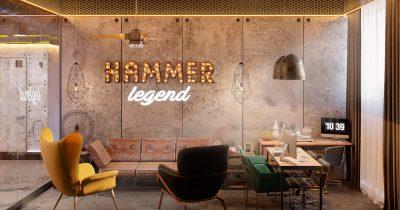 Тренажерный зал HAMMER legend. Астана