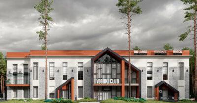ТРЦ «VESHKI CLUB 2». DAYLIGHT